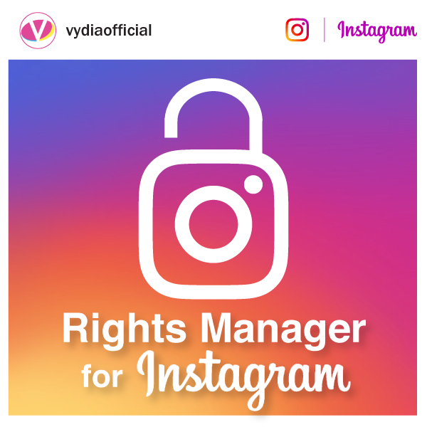 Rights Manager for Instagram